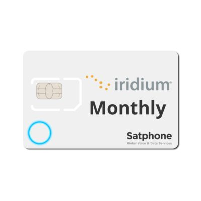 Iridium Monthly SIM