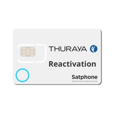 Thuraya Reactivation SIM