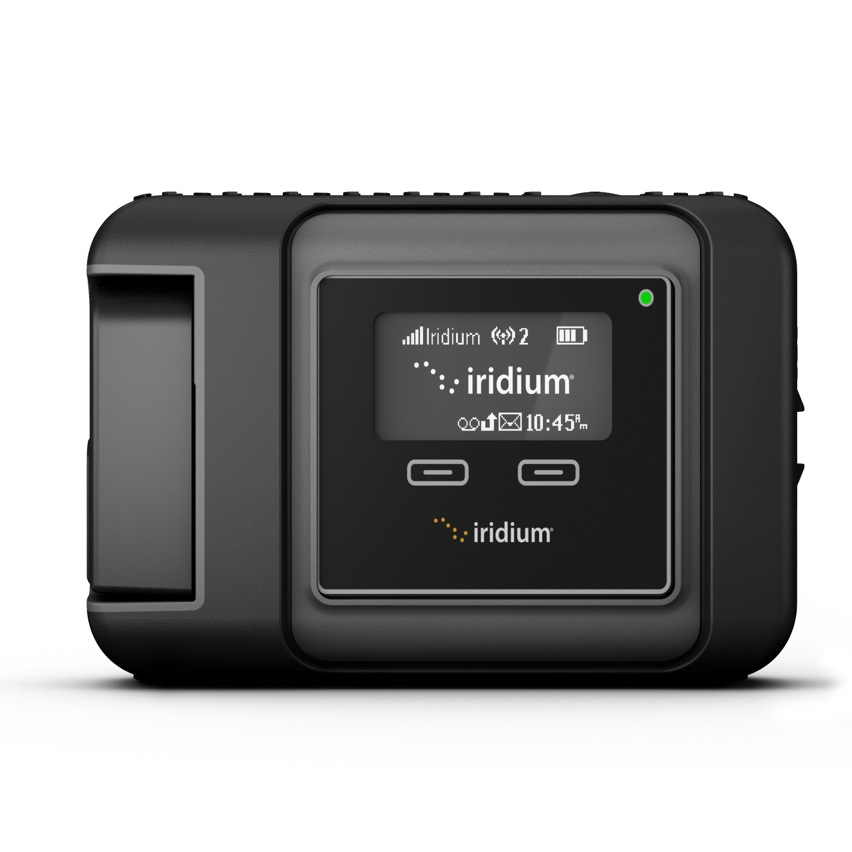 Rent the Iridium GO Satellite WiFi Terminal