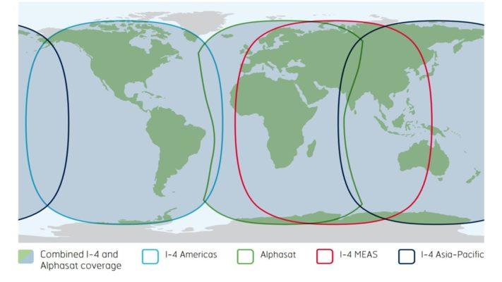FleetBroadband and FleetOne Global Coverage Map